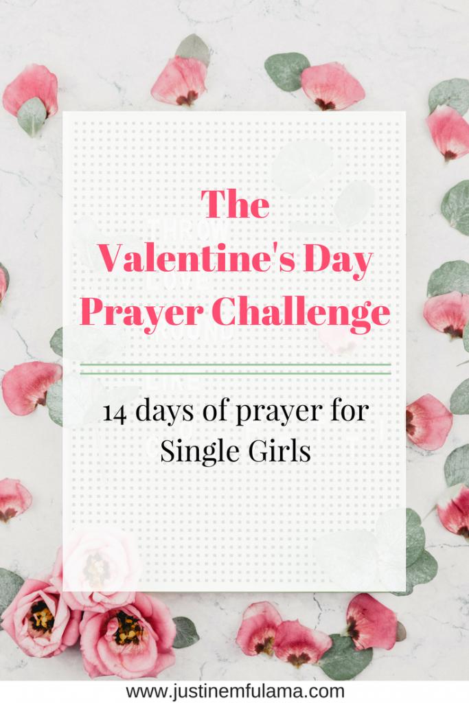 Valentine's Day Prayer Single Girls