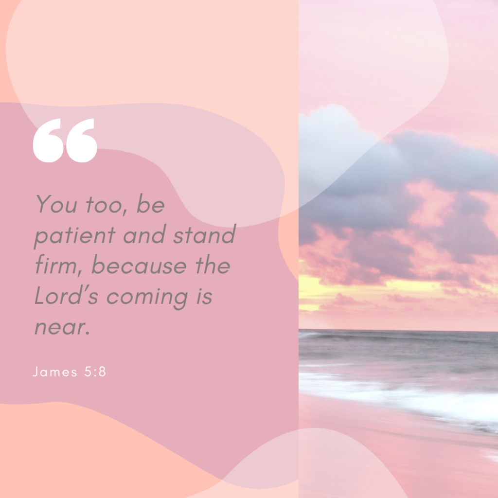patience in the bible