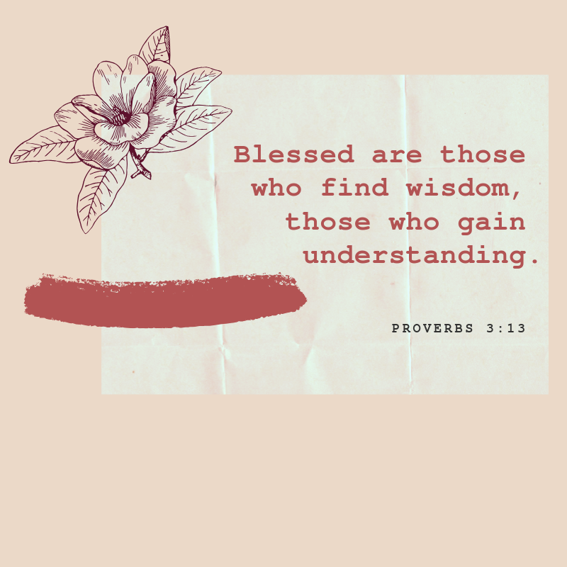 proverbs verses about wisdom
