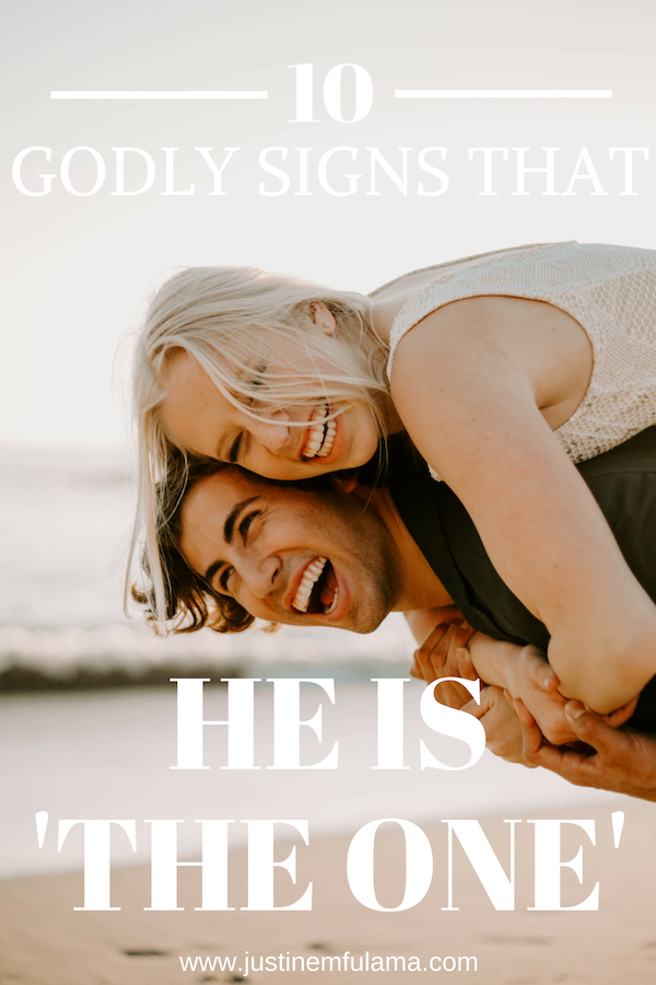 10 godly signs he is the one