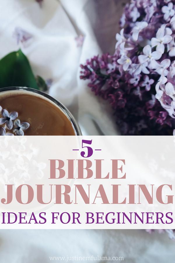 Beginner Friendly Bible Journaling Ideas