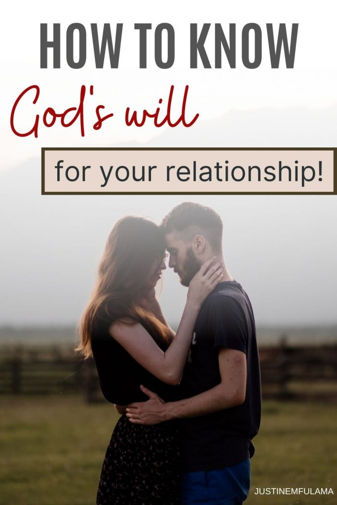 How to know if God wants you to be with someone