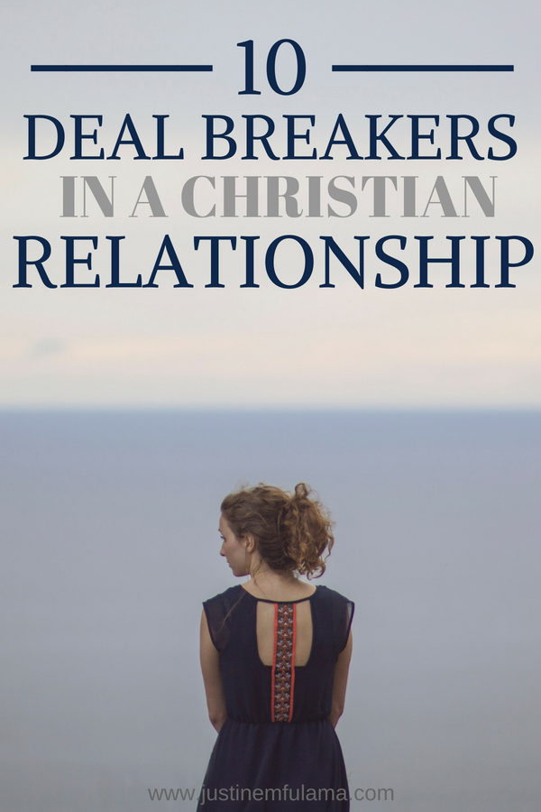 10 deal breakers in a Christian relationship