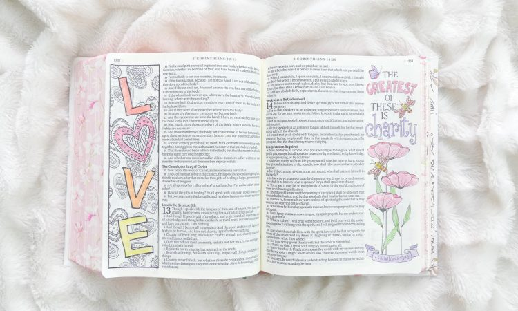 How to start Bible Journaling in 5 easy steps