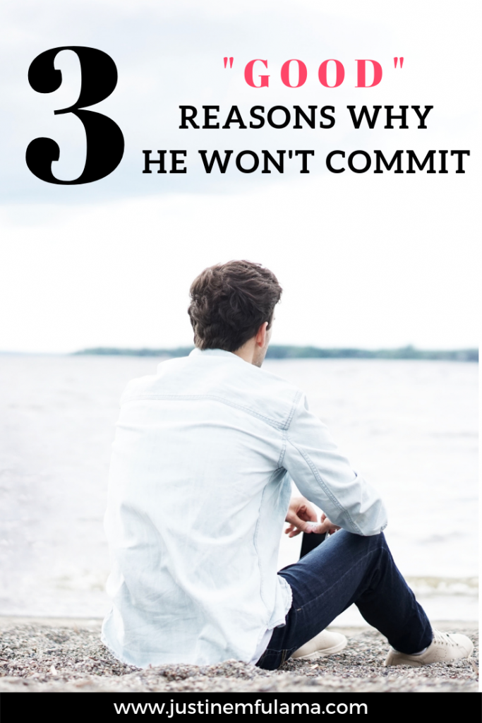Why he won't commit