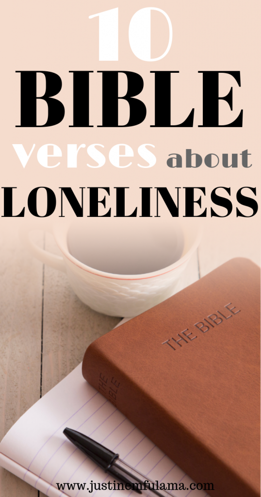 Bible Verse about Loneliness