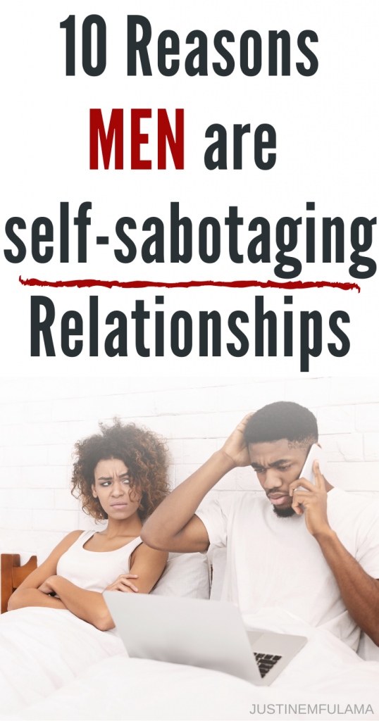self-sabotaging behavior in relationships