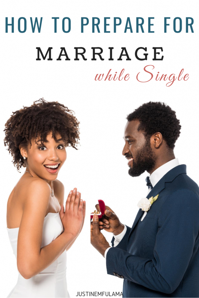How to prepare for marriage as a single woman
